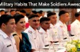 10 Military Habits That Make Soldiers Awesome