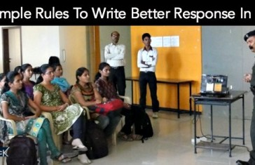 5 Simple Rules To Write Better Response In SRT