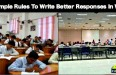 5 Simple Rules To Write Better Responses In WAT