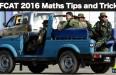 AFCAT Maths 2016