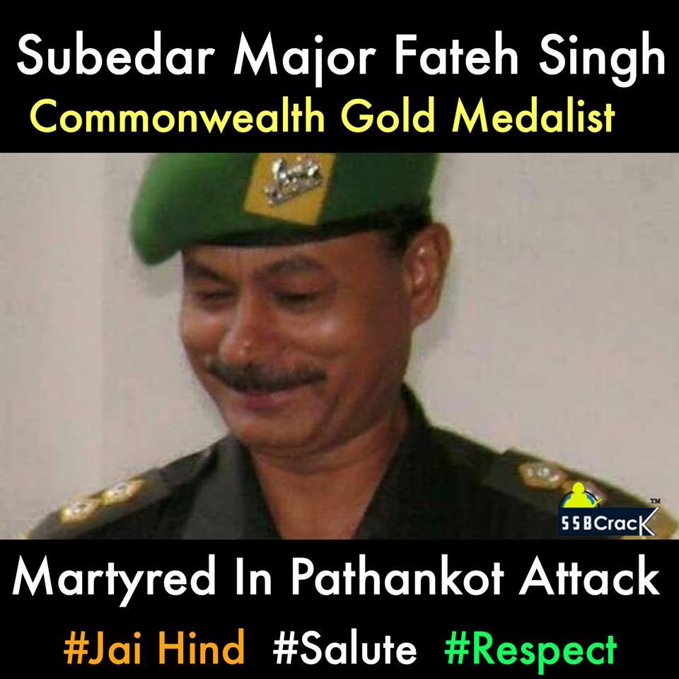 Capt Fateh Singh of DSC