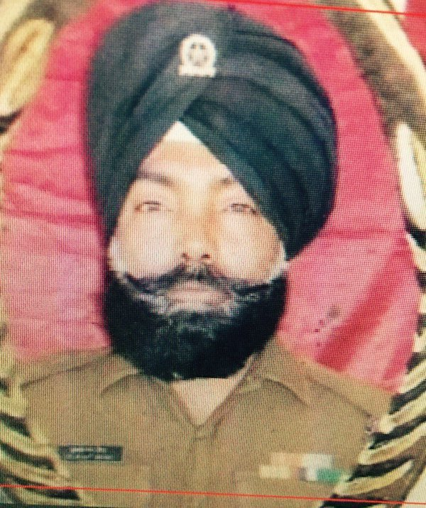 Hawaldar Kulwant Singh of DSC