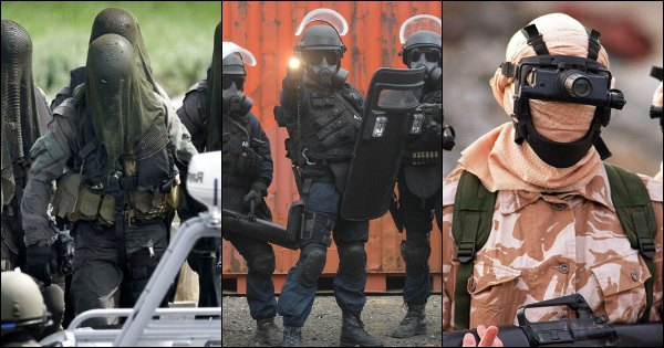 14 Epic Special Force Uniforms Will Surely Give You Goosebumps