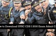 UPSC-CDS-I-2016-Exam-Admit-Card