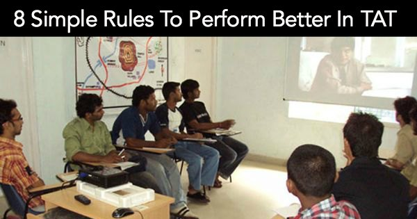 8 Simple Rules To Perform Better In TAT