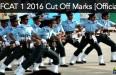 AFCAT 1 2016 cut off marks official