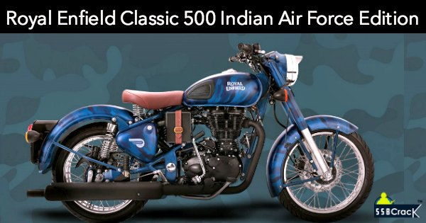 Royal Enfield Classic 500 Squadron Blue Indian Air Force Edition