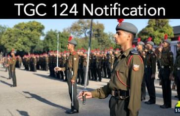 TGC 124 Notification