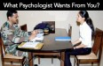 What Psychologist Wants From You