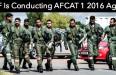 AFCAT 1 2016 Supplementary Exam