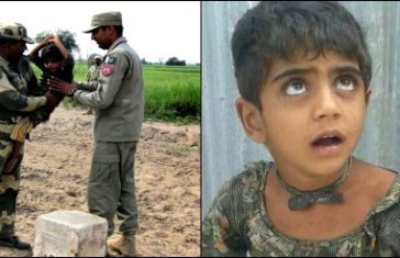 BSF Hands Over 5-Year-Old Pakistani Mute Girl To Pak Rangers