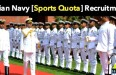 Indian Navy Sports Quota
