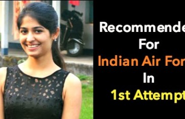 Recommended For Indian Air Force From 1 AFSB Dehradun In 1st Attempt
