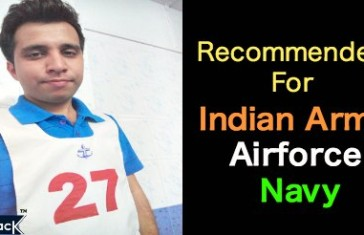 Recommended For Triservices: Army, Airforce and Navy