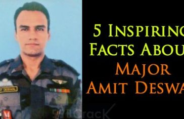 5 Inspiring Facts About Major Amit Deswal