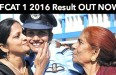 AFCAT 1 2016 Result OUT NOW