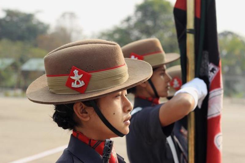Meet First Batch Of Assam Rifles Women Soldiers