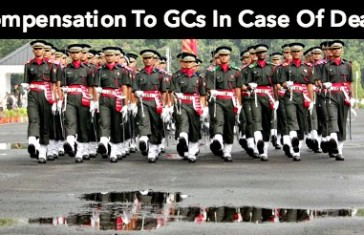 Compensation To GCs In Case Of Death