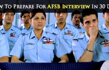 How To Prepare For AFSB Interview In 30 Days