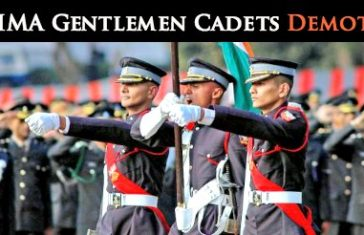 IMA Gentlemen Cadets Demoted