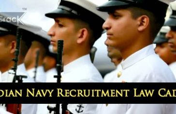 Indian navy law recruitment JAG