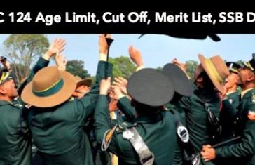 TGC 124 Age Limit, Cut Off, Merit List, SSB Date