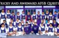 awkward AFSB questions
