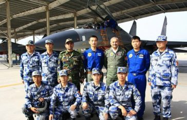 pak china air exercise