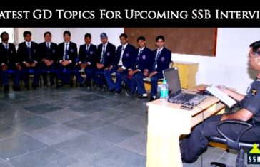 10 Latest GD Topics For Upcoming SSB Interviews