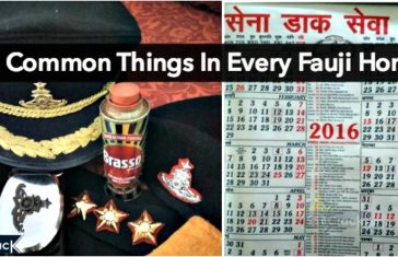 20 Common Things In Every Fauji Home