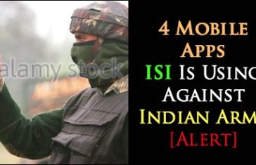 4 Mobile Apps ISI Is Using Against Indian Army [Alert]