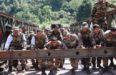 Indian Army Making Bridge