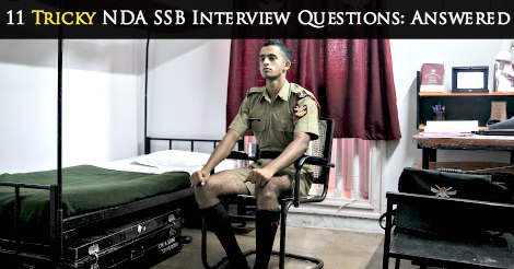 NDA SSB Interview Questions