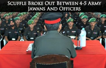 Scuffle Broke Out Between 4-5 Army Jawans And Officers