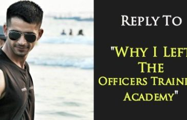 Why I Left The Officers Training Academy