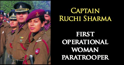 first operational woman paratrooper