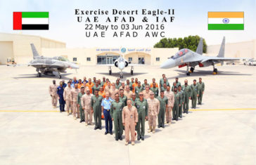 Desert Eagle II, India-UAE Joint Air Force Excercise