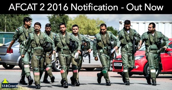 2016 notification pdf afcat