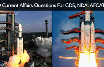 ISRO Current Affairs Questions For CDS, NDA, AFCAT, TA and SSB