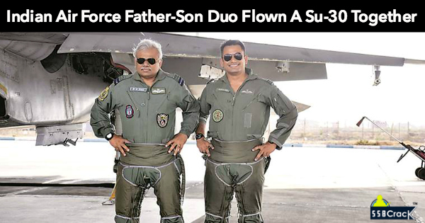 Meet Indian Air Force Father-Son Duo Flown A Su-30 Together