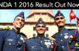 NDA 1 2016 Result Out Now
