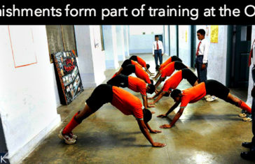 OTA Chennai lady cadet punishment