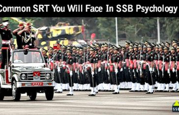15 Common SRT You Will Face In SSB Psychology Test