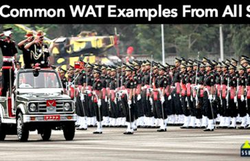 30 Common WAT Examples From All SSB