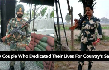 Meet This Army Couple Who Dedicated Their Lives For Country's Safety