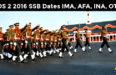 CDS 2 2016 SSB Dates IMA, AFA, INA, OTA
