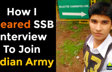 How I Cleared SSB Interview To Join Indian Army