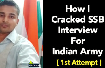 How I Cracked SSB Interview For Indian Army