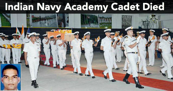 Indian Navy Academy Cadet Died During Physical Training