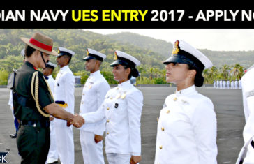 Indian Navy UES Entry